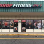 Snap Fitness - Finished Store Front Vinyl & Sign