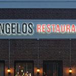 Angelos Pizza - Front Lit & Halo Lit Channel Letters