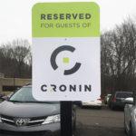 Cronin - Parking Sign