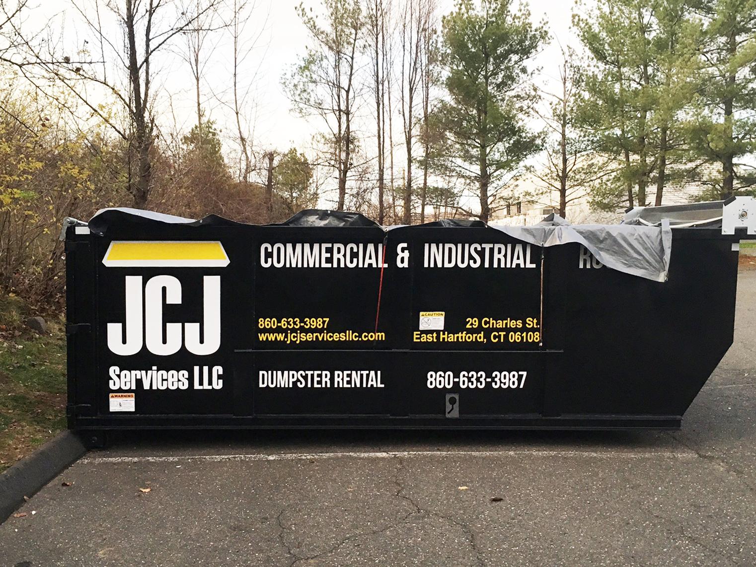 JCJ Dumpster Vinyl