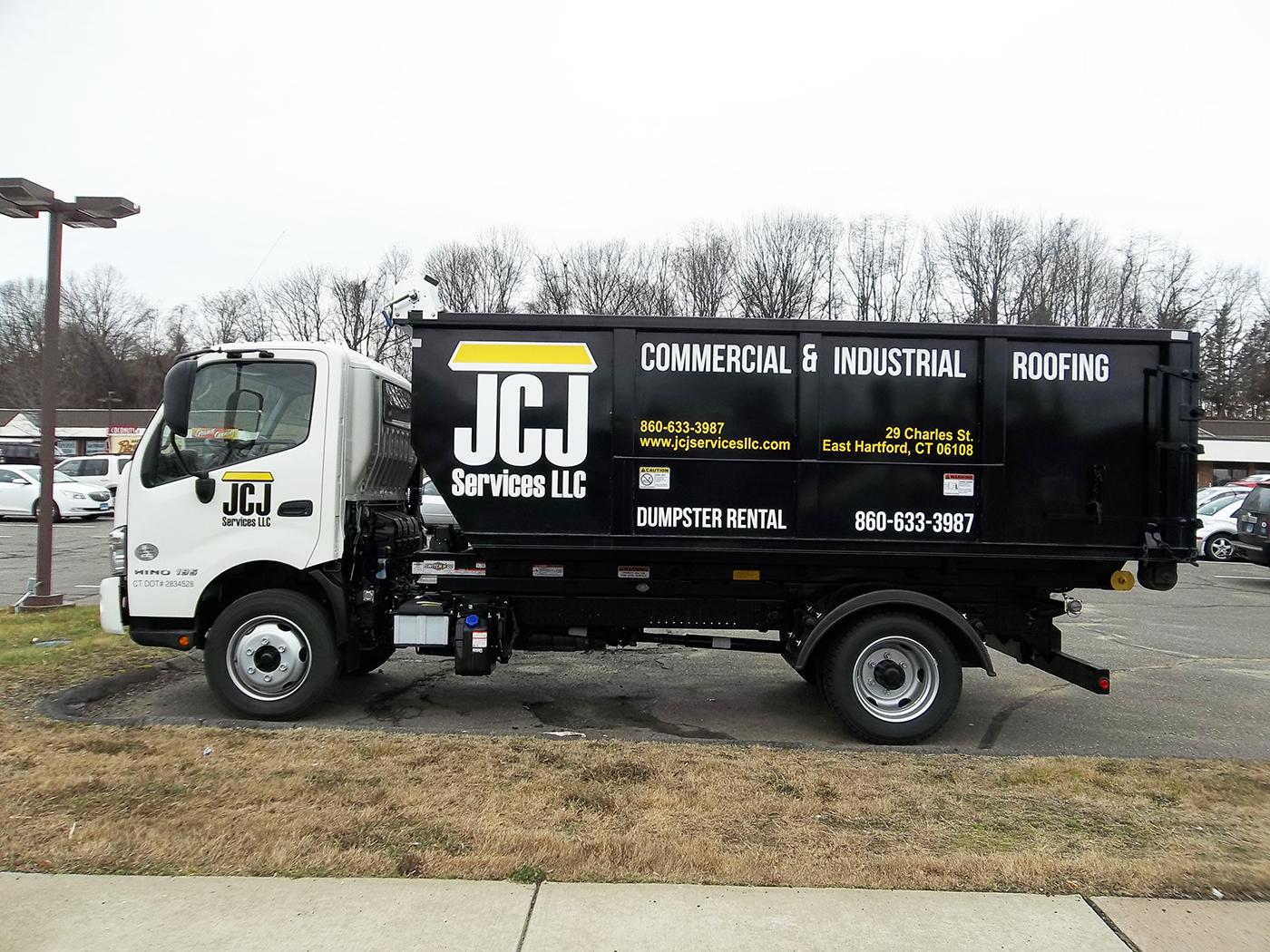 JCJ Dumpster Truck Vinyl