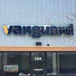 Vanguard - Front LitChannel Letter
