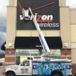 Verizon - Front LitChannel Letter